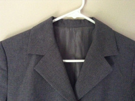 Elegant Gray Jacket and Pant Suit Inside Lining Front Pockets NO TAG image 2