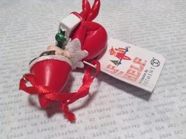 Dept 56 - Elf on the Shelf -  Nathan banner Christmas Ornament image 4