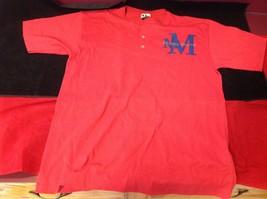 Disney short sleeve red t shirt  size small medium image 2