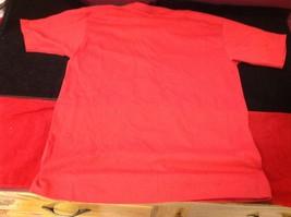 Disney short sleeve red t shirt  size small medium image 5