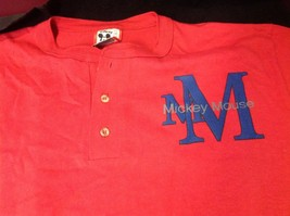 Disney short sleeve red t shirt  size small medium image 3