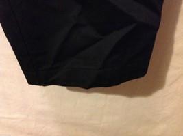 Dockers Mens Black Pleated Dress Pants, Size W34 L28 image 4