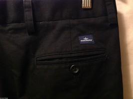 Dockers Mens Black Pleated Dress Pants, Size W34 L28 image 5