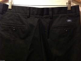 Dockers Mens Black Pleated Dress Pants, Size W34 L28 image 6