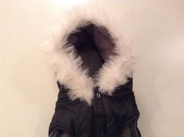 Dog It Black Winter Coat For Large Dog, Warm, Snowflakes image 2