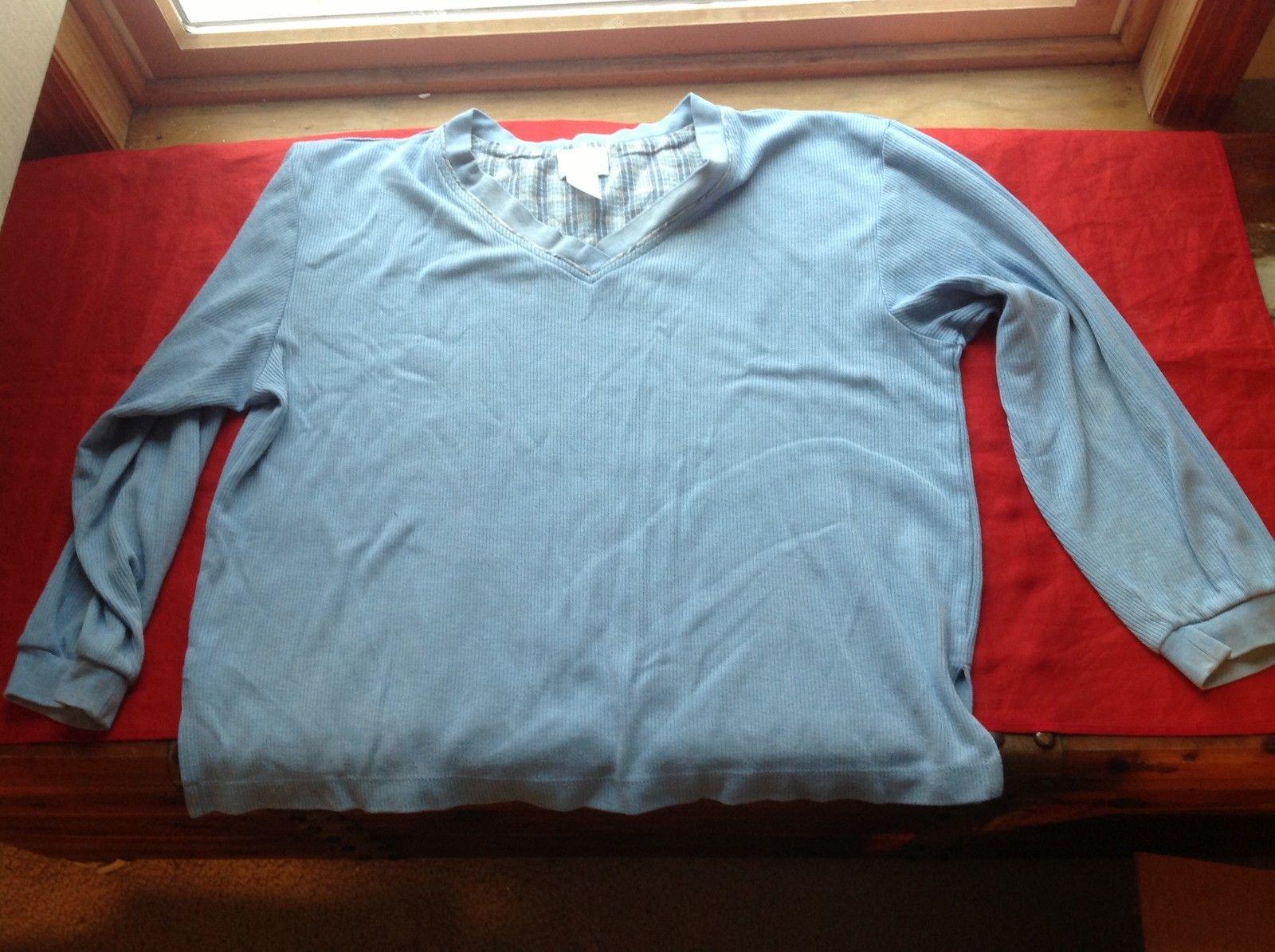 Enchanted Light Blue Long Sleeve Sweater Size Medium