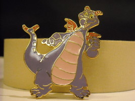 Epcot Purple Dragon Disney Collectible Trader Pin