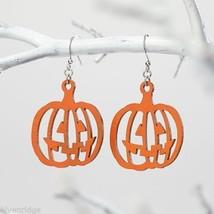 Fashion earrings filigree Orange Pumpkins   Flourish image 2