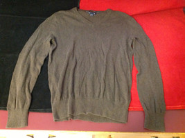 GAP Womens Brown V Neck Sweater size XS Extra Small