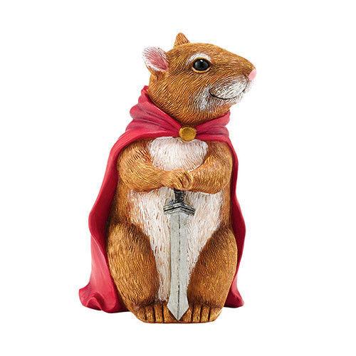 Gallant Knight Guard Rathbone Mouse Figurine Garden Guardian Department 56