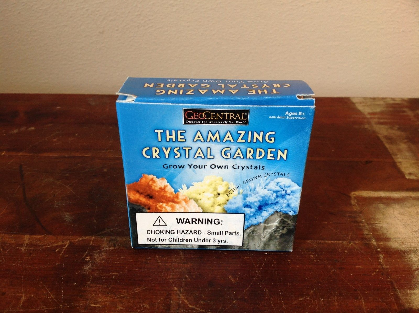 Geo Central The Amazing Crystal Garden Grow Your Own Crystals