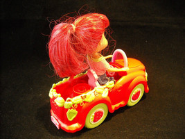 3 Pose-able Strawberry Shortcake dolls, with Car, and Separate Basket Included image 2