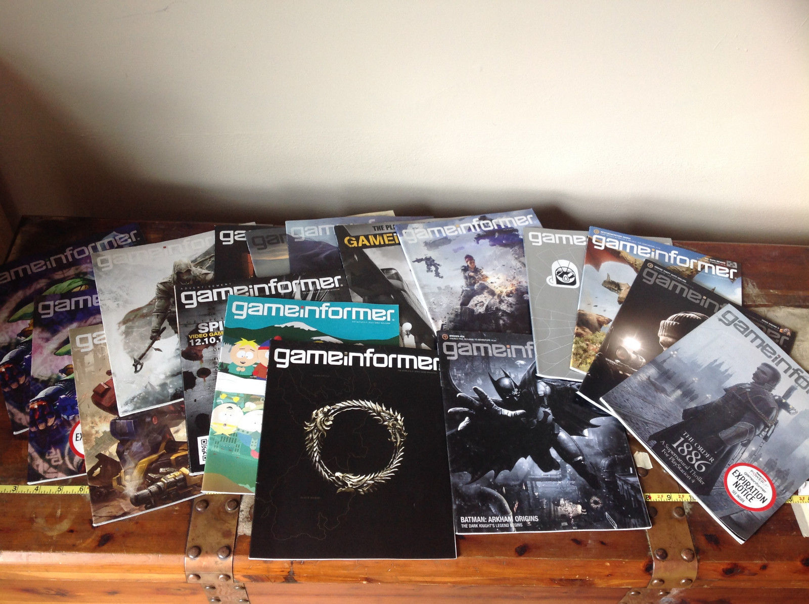 Game Informer Gaming Magazine 16 Back Issues See Number of Issues Below
