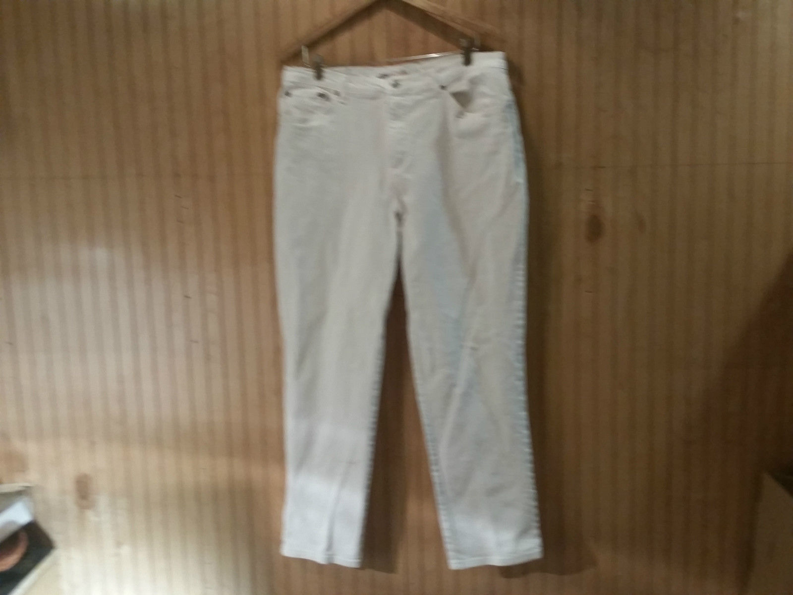 Faded Glory Jeans Company White Stretch Jeans Size 18 Average Good Condition