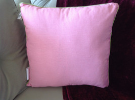 Easter Spring Bunny Rabbit Pink Pillow with Ornaments Great for Spring Fever image 10