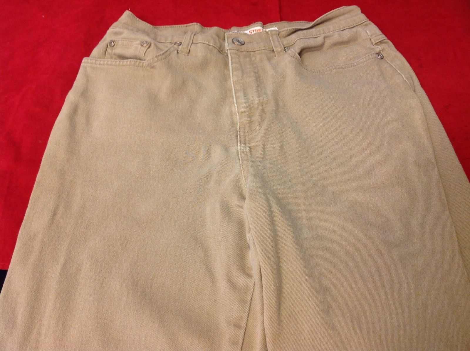 Faded Glory khaki pants stretch women's size 10