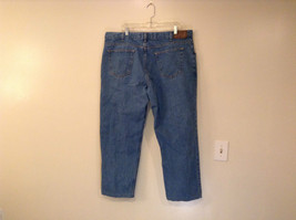 Faded Glory Size 42 by 30 Blue Jeans Front and Back Pockets 100 Percent Cotton
