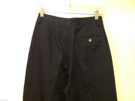 Eddie Bauer Womens Classic Fit Wrinkle Resistant Navy Blue Black Pants, Size 8 image 6