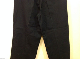 Eddie Bauer Womens Classic Fit Wrinkle Resistant Navy Blue Black Pants, Size 8 image 7