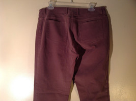 Eileen Fisher Size Medium Gentle Brown Pants Nice Fabric Good Condition image 4