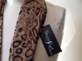 Elegant Leopard Print Fashion Infinity Scarf from The Magic Scarf Company image 3