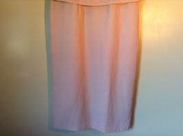 Elegant Light Dusty Rose Pink Dress by East 5th Petite Size 6P Double Layered image 3