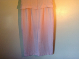 Elegant Light Dusty Rose Pink Dress by East 5th Petite Size 6P Double Layered image 7