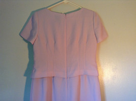 Elegant Light Dusty Rose Pink Dress by East 5th Petite Size 6P Double Layered image 6