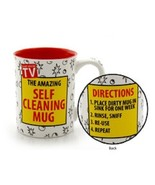 Father's Day or other holiday Dad gift The Amazing Self Cleaning Mug gag... - $39.99