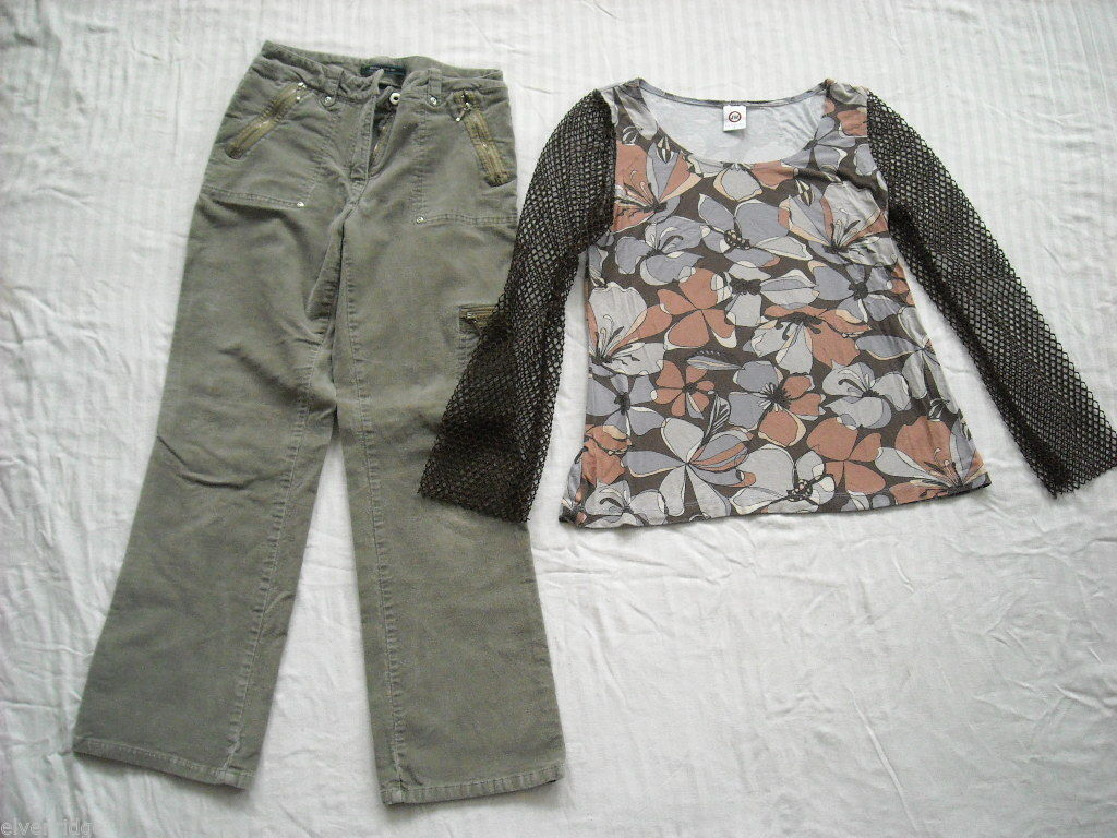 Fashionable Top and Pants