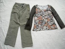 Fashionable Top and Pants image 1