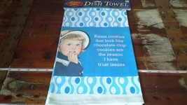 Fiddlers Elbow Dish Towel Light Blue 100 Percent Cotton Made in USA