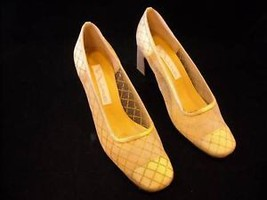 Gold Color Nina High Heeled Shoes size 8m
