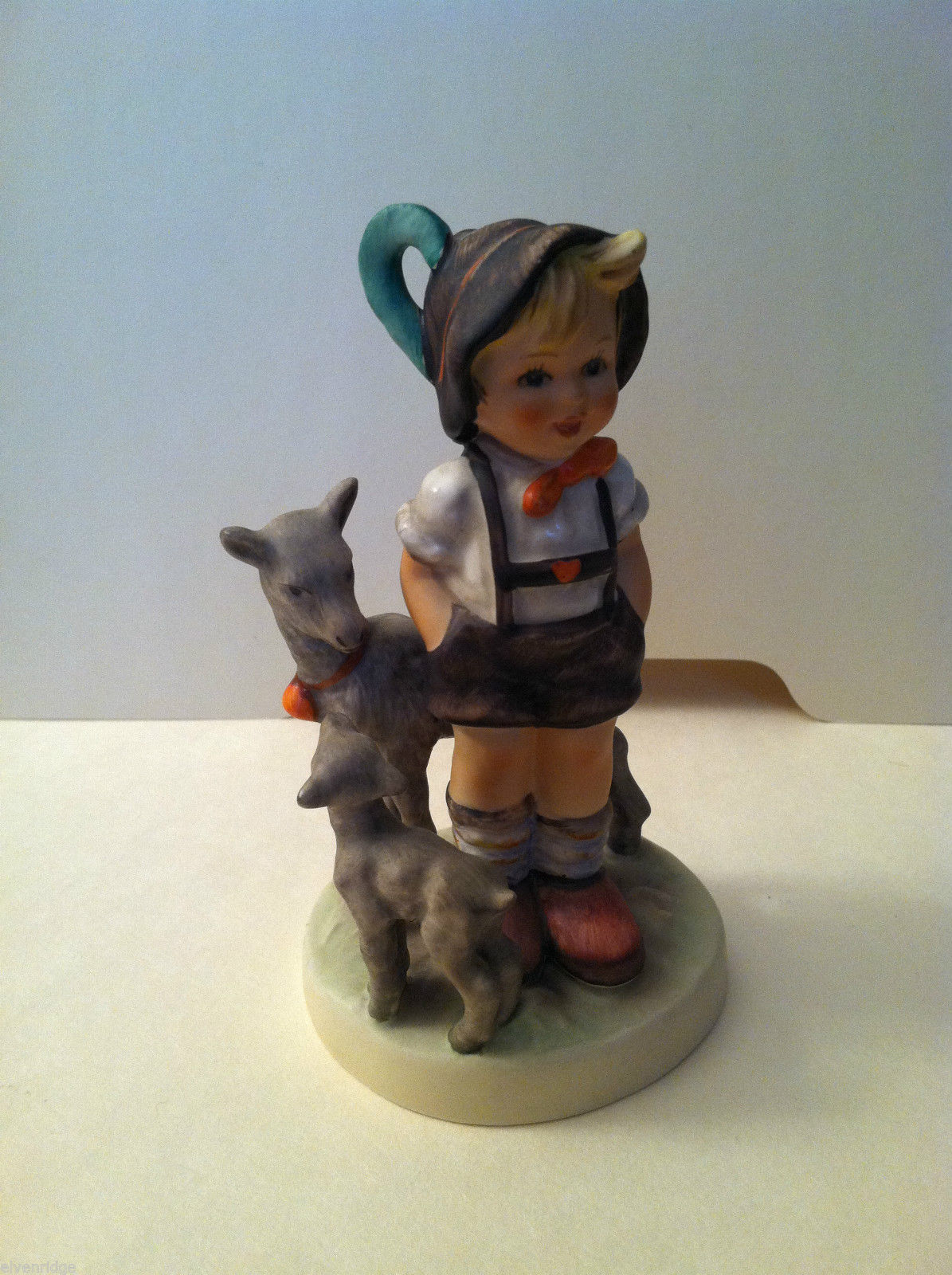 "Goebel Hummel ""Little Goat Herder"" #200/0 Figurine - West Germany Stamped"