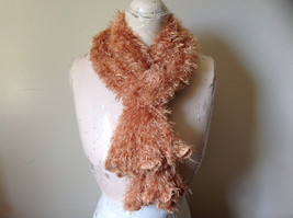 Golden Magic Fuzzy Circle Scarf Can Be Worn Multiple Ways NO TAGS