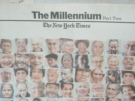 Full Issue New York York Times January 1 2000 The Millenium image 4