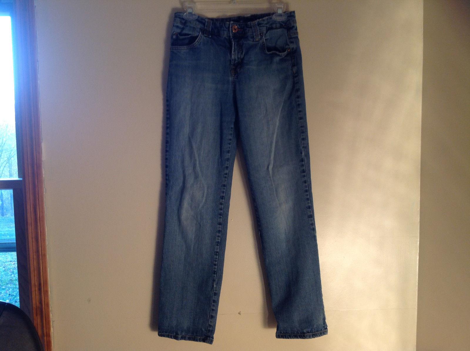 Five Pocket Blue Jeans Zipper Button Closure Mandie Classic Bandolino Size 6