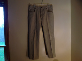 Five Pocket Arizona Khaki Jeans Zipper Button Closure Classic Fit Size 34 by 30