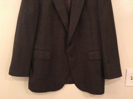 Evan Picone Gray Jacket and Pant Suit Size 46 Regular Partially Lined Jacket image 3