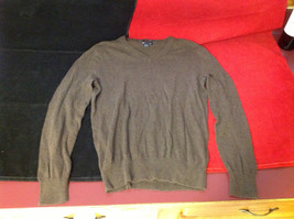 GAP Womens Brown V Neck Sweater size XS Extra Small image 3