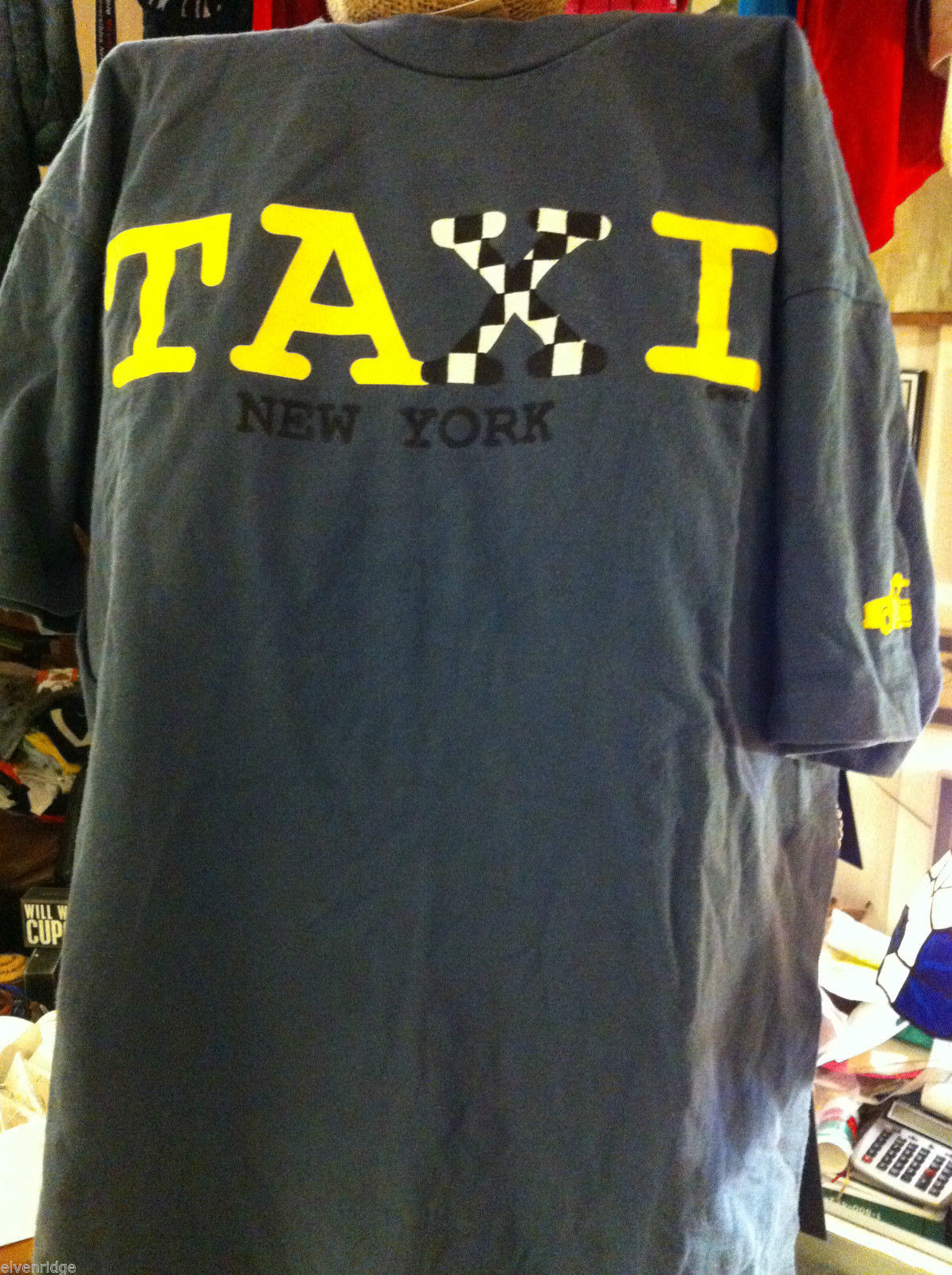 Gray T shirt size L New York Taxi