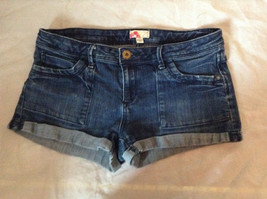 Forever 21 Jean Shorts Cuffed Bottom Size 29 image 1