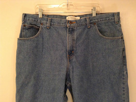 Faded Glory Size 42 by 30 Blue Jeans Front and Back Pockets 100 Percent Cotton image 3