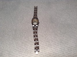 Fossil ES 1053 Watch with Date Marker Silver Tone Band - $39.99