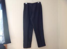 Fashion Bug Dark Navy Jacket Pant Matching Set Jacket Size Medium Pants Size 8 image 6