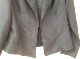 Fashion Bug Dark Navy Jacket Pant Matching Set Jacket Size Medium Pants Size 8 image 3