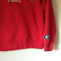 Georgia Bulldogs Red Hoodie Sweatshirt Team Edition Apparel Sizes XS image 3