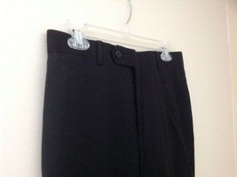 4 Pocket Black Dress Pants 2 Button Zipper Closure Tommy Hilfiger  Inseam 32 in image 4