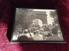 Framed Black and White Photo World Trade Center NYC Signed by Photographer image 1