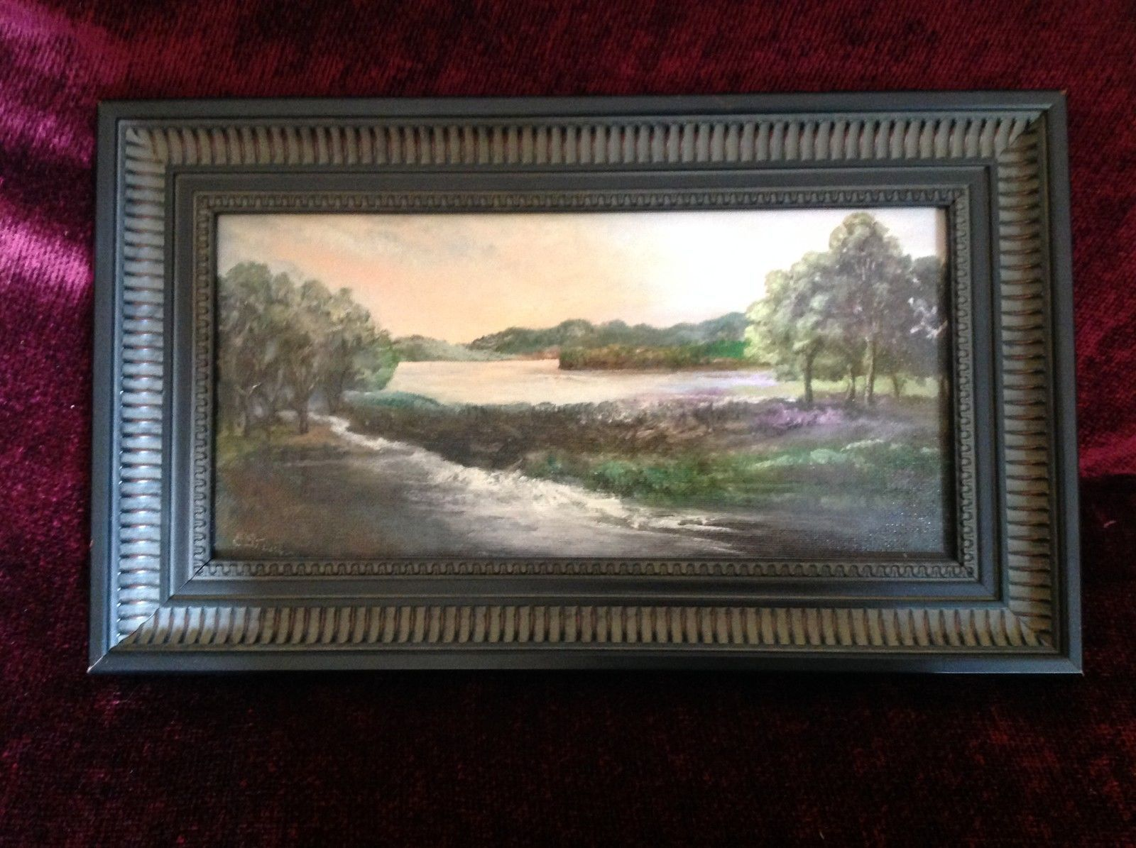 Framed Elizabeth St Leger Valkill Inspiration Painting